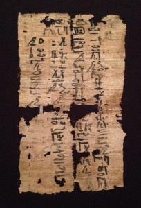 Egyptian Letter to the Dead